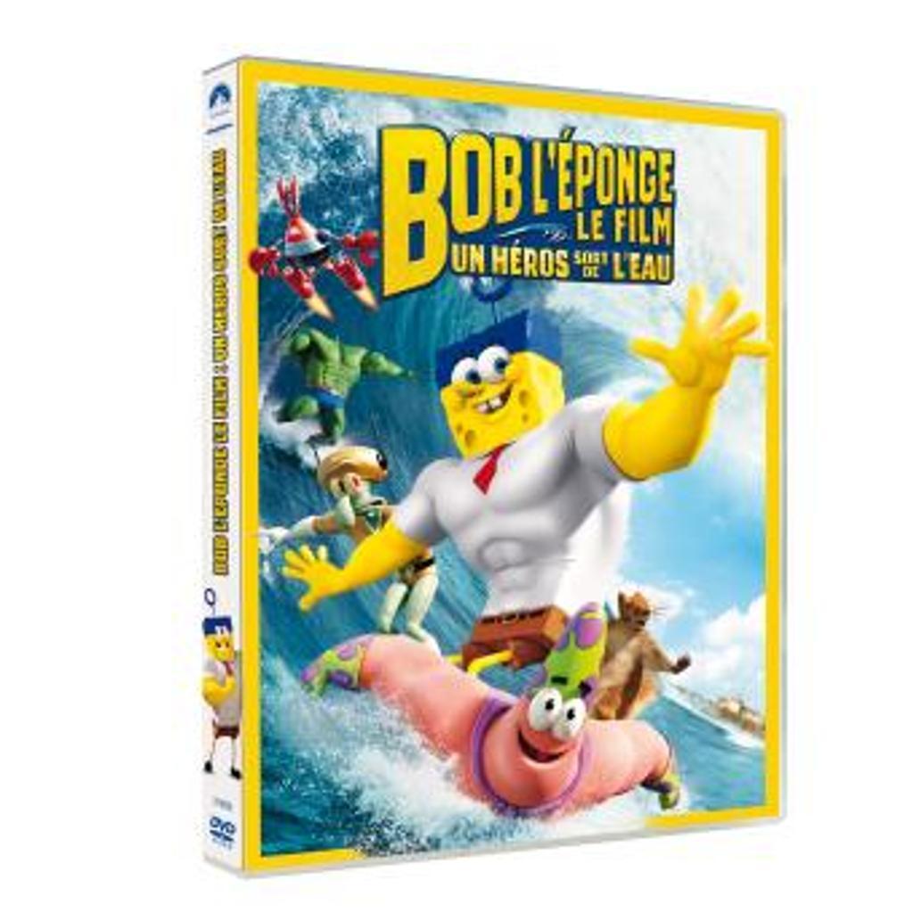 BOB L'EPONGE, LE FILM : un héros sort de l'eau / Paul Tibbitt, réal. |