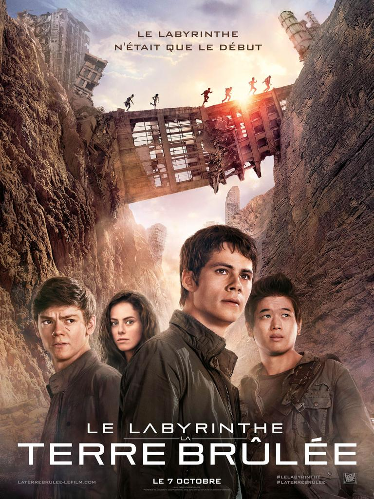 LE LABYRINTHE 2 : la Terre Brûlée / Wes Ball, réal.  