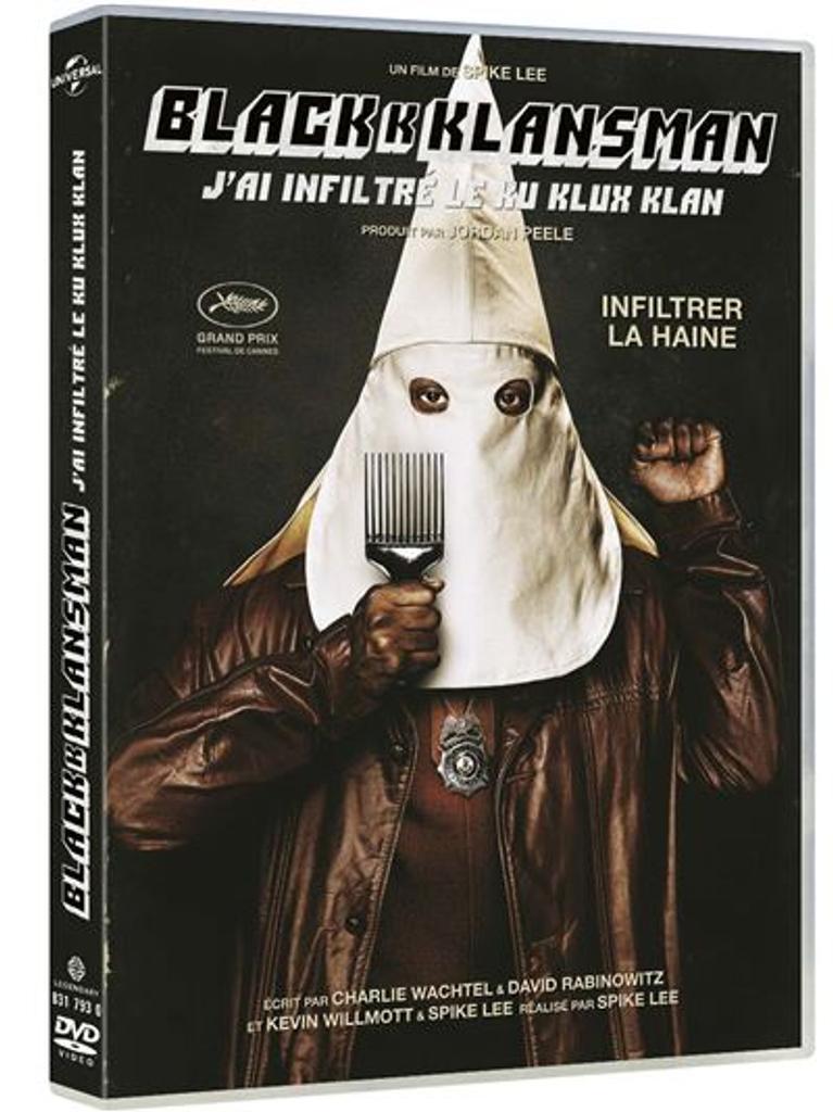 BLACKKKLANSMAN : j'ai infiltré le Ku Klux Klan / Spike Lee, réal.  