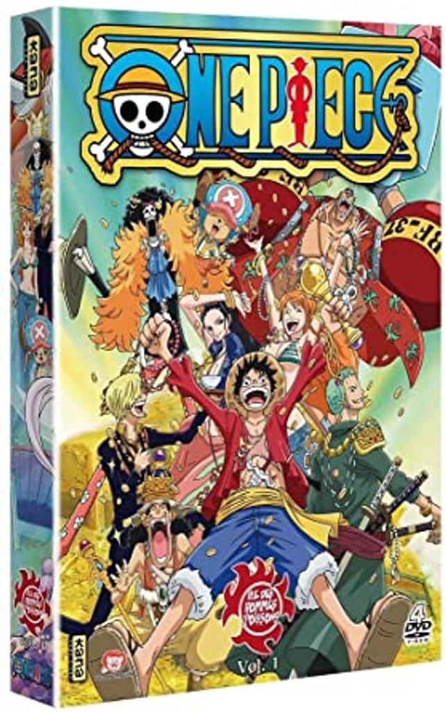 ONE PIECE, 517 à 535 : ILE DES HOMMES POISSONS : Volume 1 / Hiroaki Miyamoto, réal. |