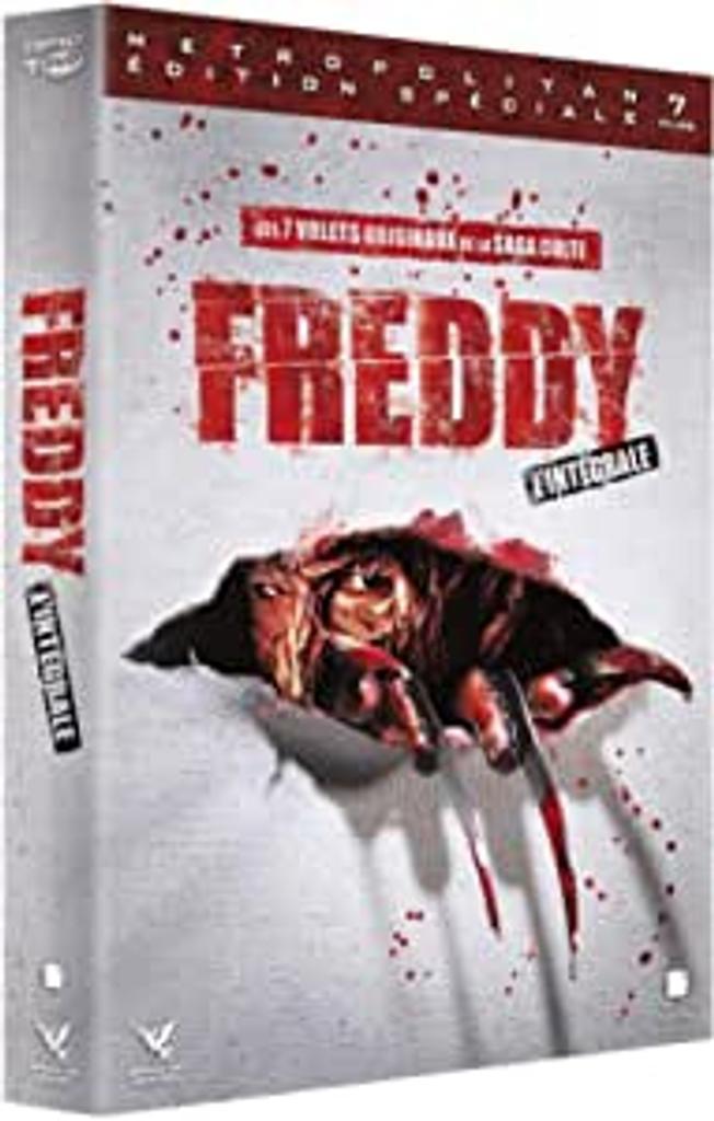 FREDDY, intégrale / Wes Craven, Jack Sholder, Chuck Russell, Renny Harlin, Stephen Hopkins, Rachel Talalay, réal. |