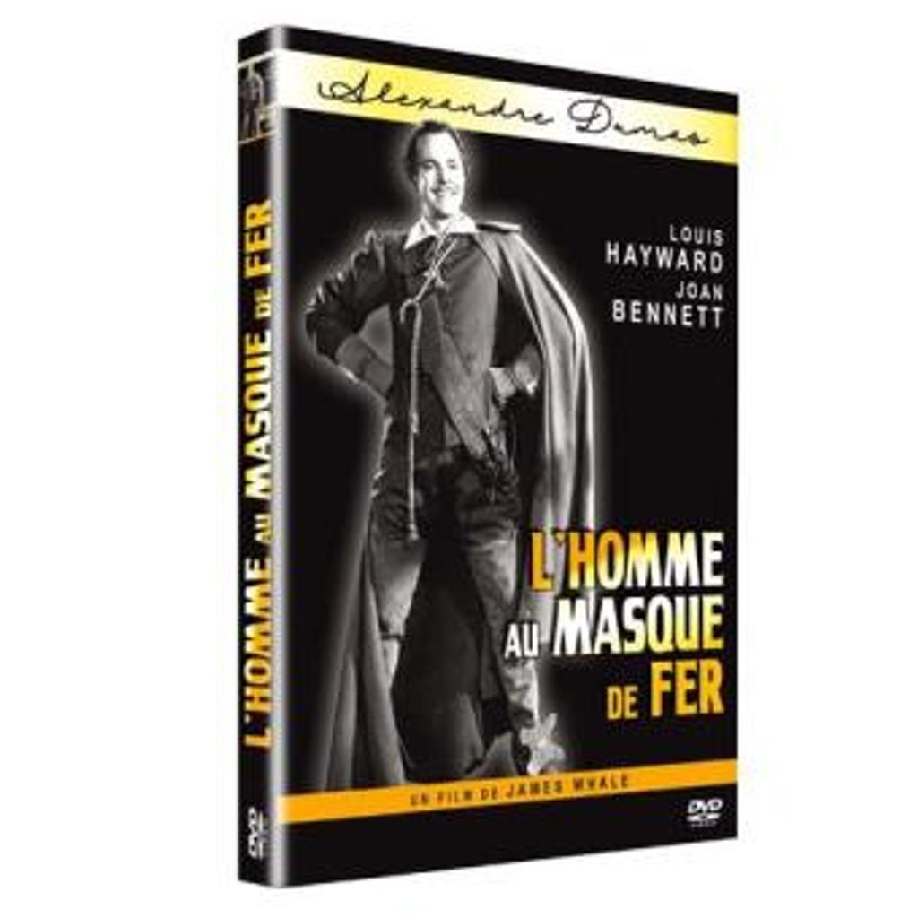 L'HOMME AU MASQUE DE FER / James Whale, réal. |