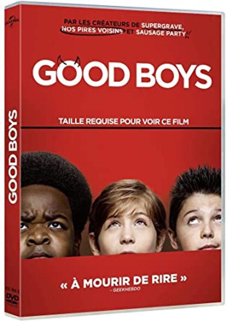 GOOD BOYS / Gene Stupnitsky, réal. |