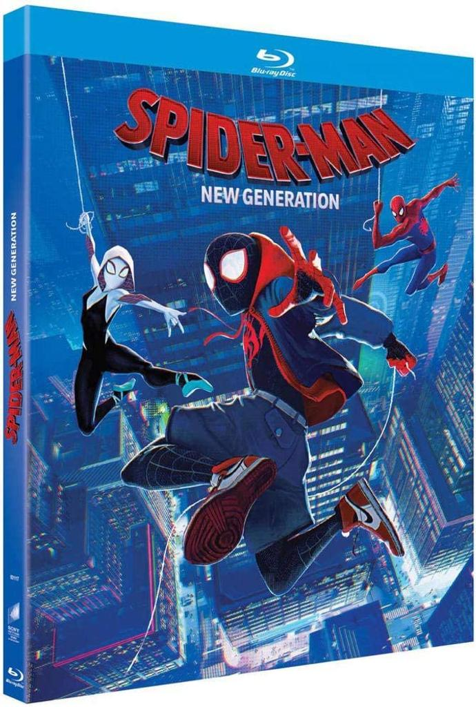 SPIDER-MAN : NEW GENERATION / Bob Persichetti, Peter Ramsey, Rodney Rothman, réal. | Persichetti, Bob. Metteur en scène ou réalisateur