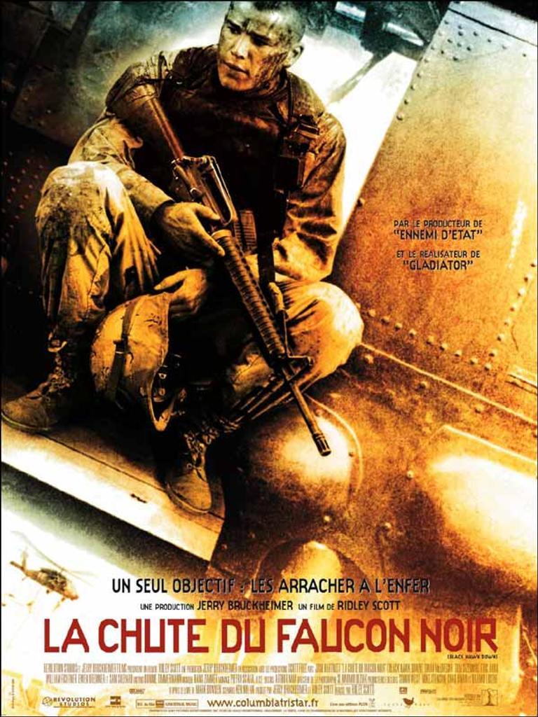 LA CHUTE DU FAUCON NOIR / Ridley Scott, réal.  