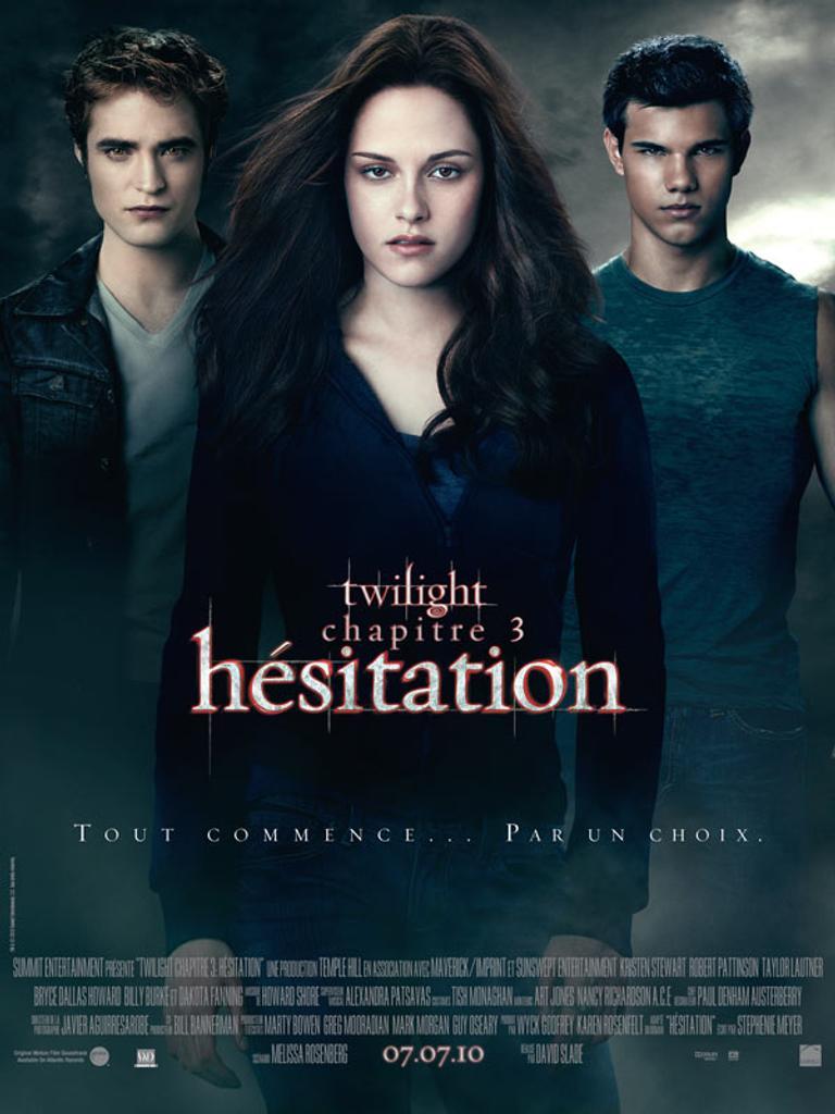 TWILIGHT 3 : Hésitation / Chris Weitz, Catherine Hardwicke, David Slade, Bill Condon, réal.  