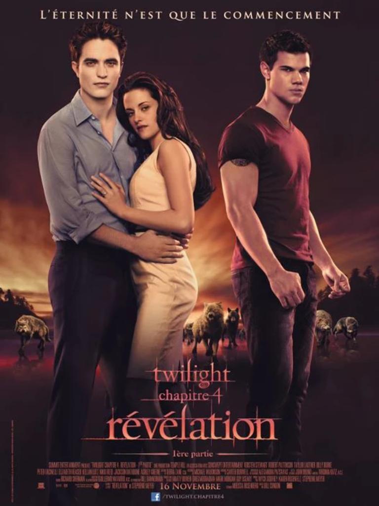 TWILIGHT 4 : Révélation : partie 1 / Chris Weitz, Catherine Hardwicke, David Slade, Bill Condon, réal.  