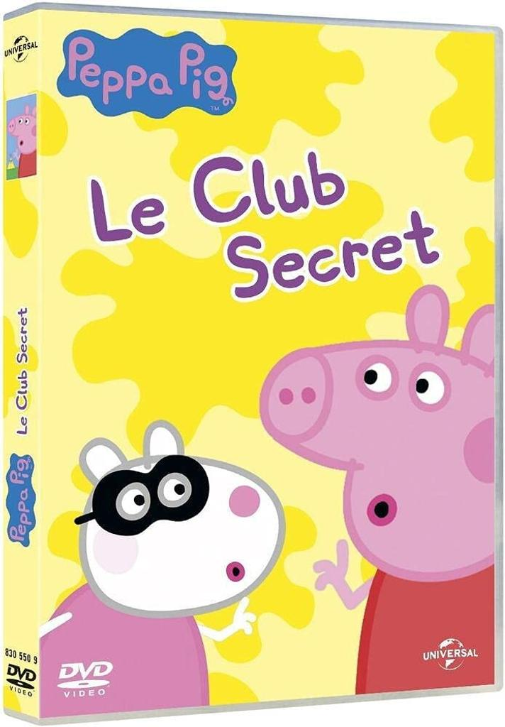 PEPPA PIG : Le club secret / Neville Astley, Mark Baker, réal. |