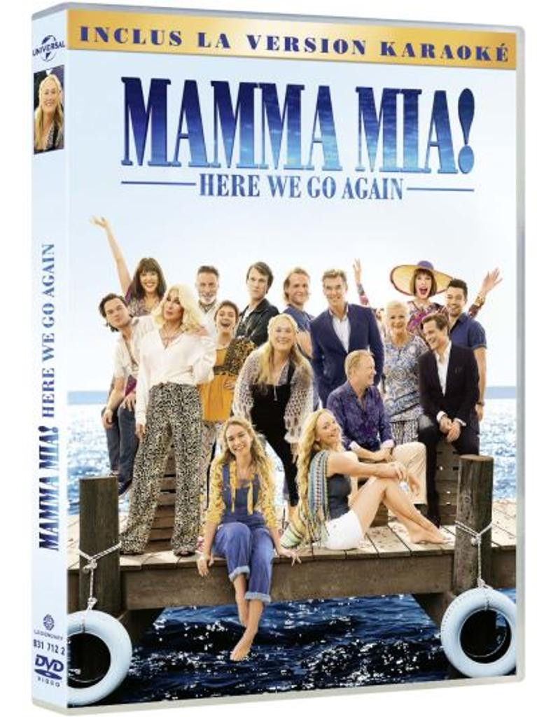 MAMMA MIA ! : here we go again / Phyllida Lloyd, Ol Parker, réal.  