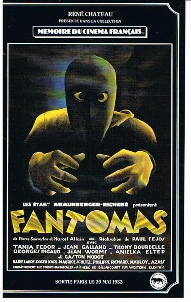 FANTOMAS / Paul Fejos, réal. |
