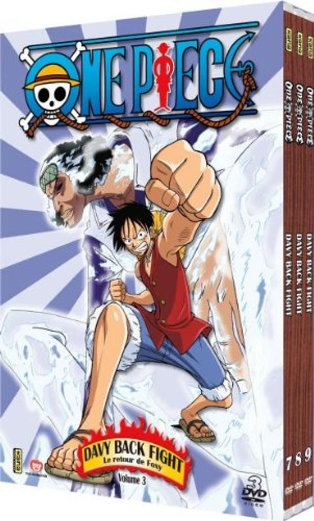 ONE PIECE, 218 à 228 : DAVY BACK FIGHT 3 : Le retour de Foxy : volume 3 / Kônosuke Uda, réal. |