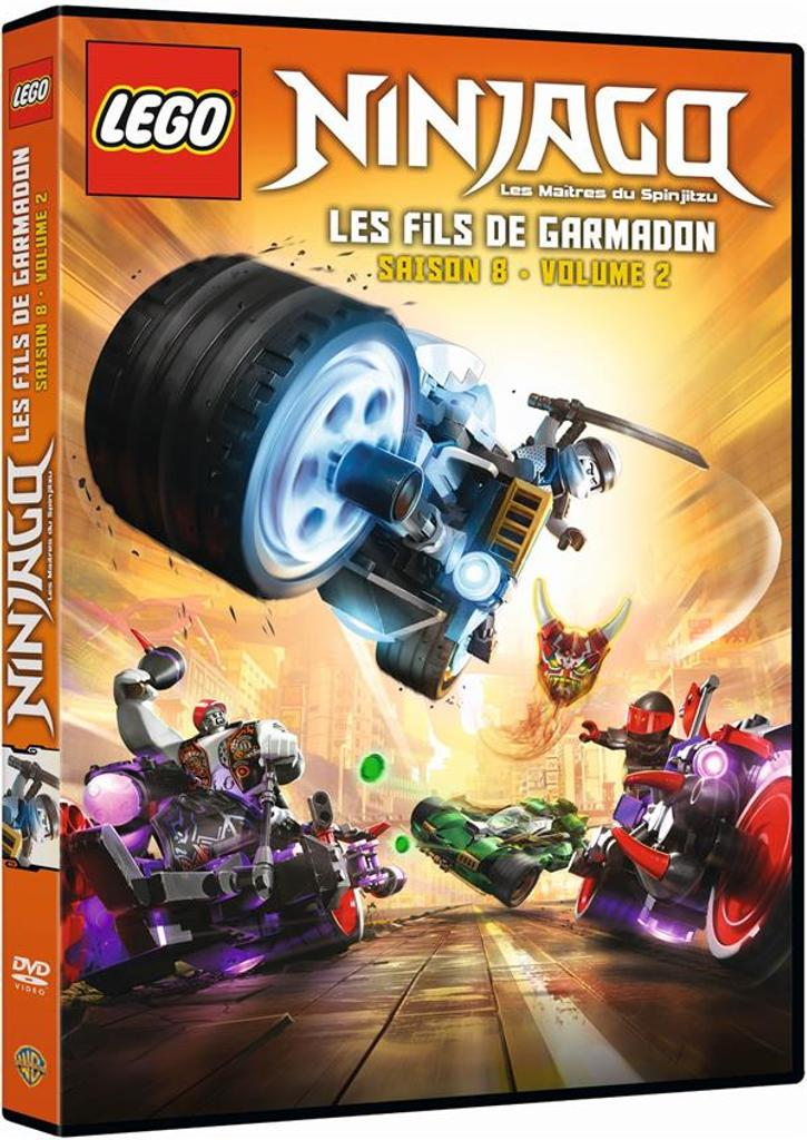NINJAGO, les maîtres du Spinjitzu : saison 8 volume 2 |