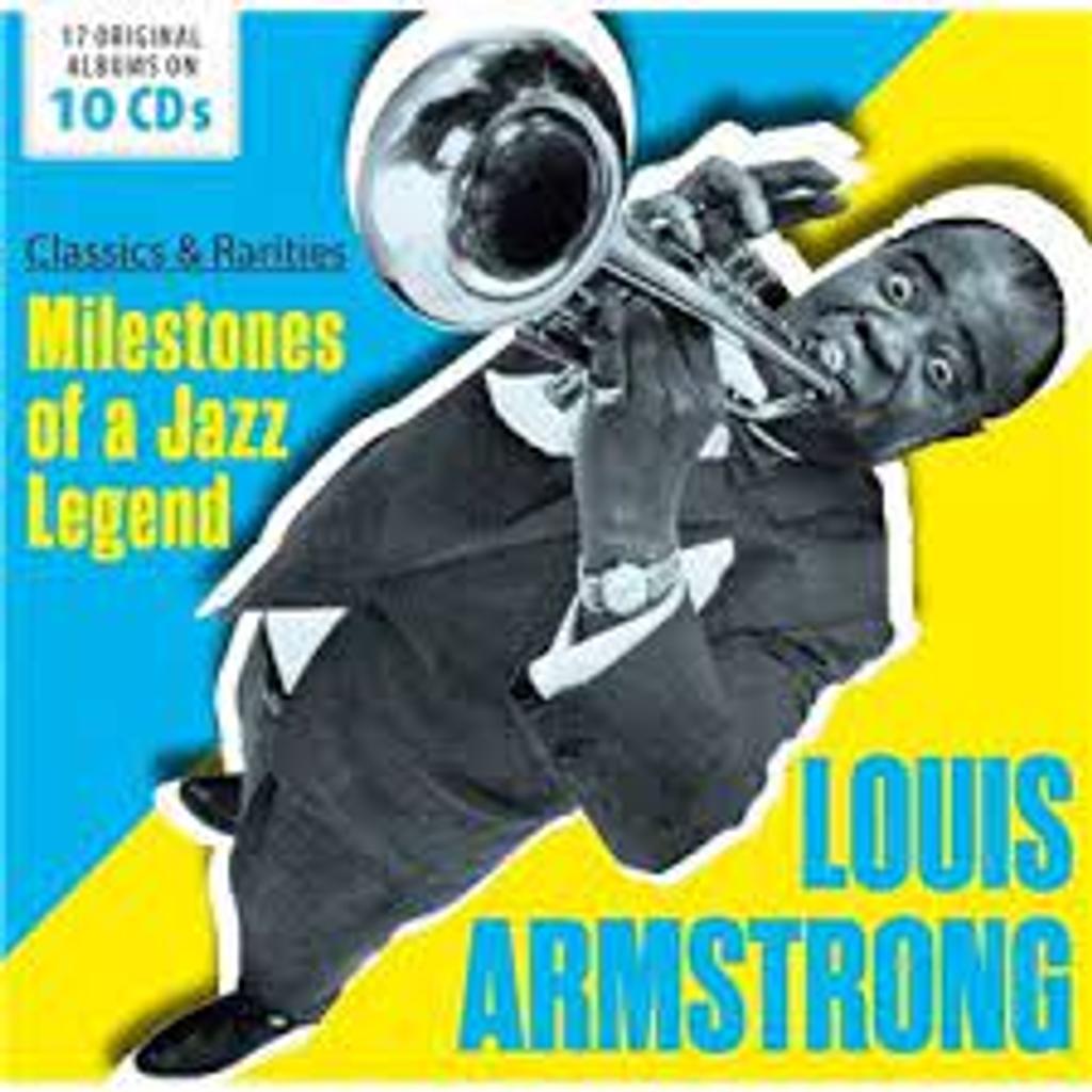 MILESTONES OF A JAZZ LEGEND CD3 : classics & rarities / Louis Armstrong |