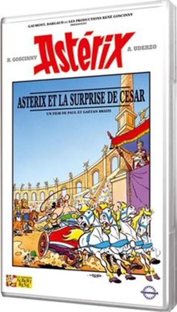 ASTERIX ET LA SURPRISE DE CESAR / Paul et Gaëtan Brizzi, réal. |